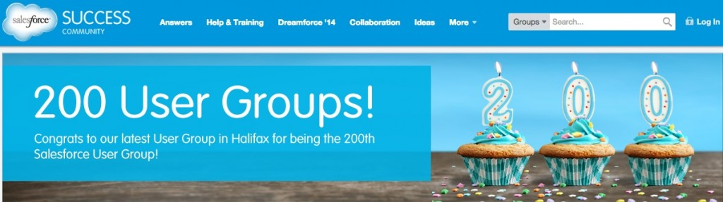 Salesforce user groups