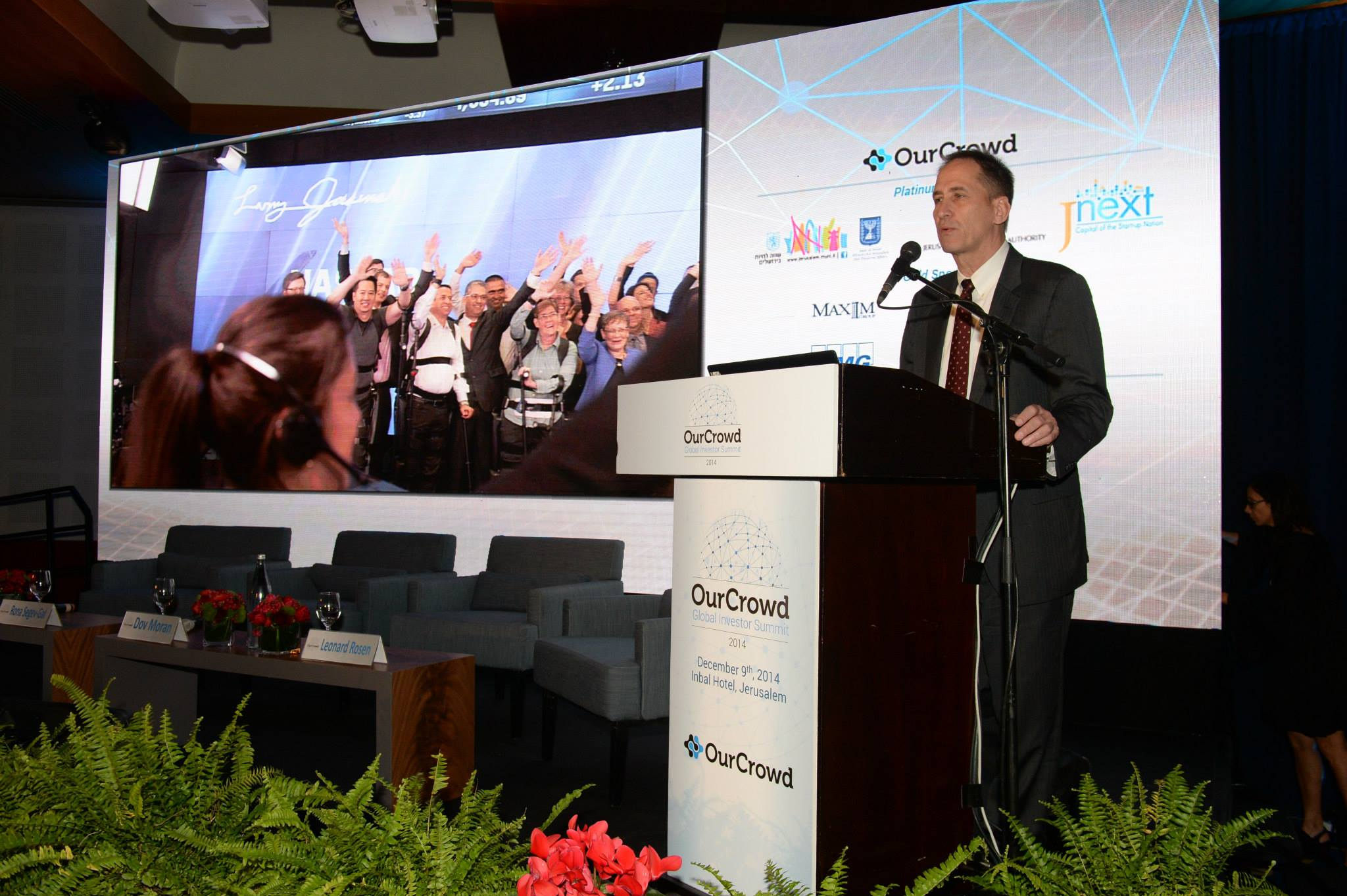 At the OurCrowd Summit 2014