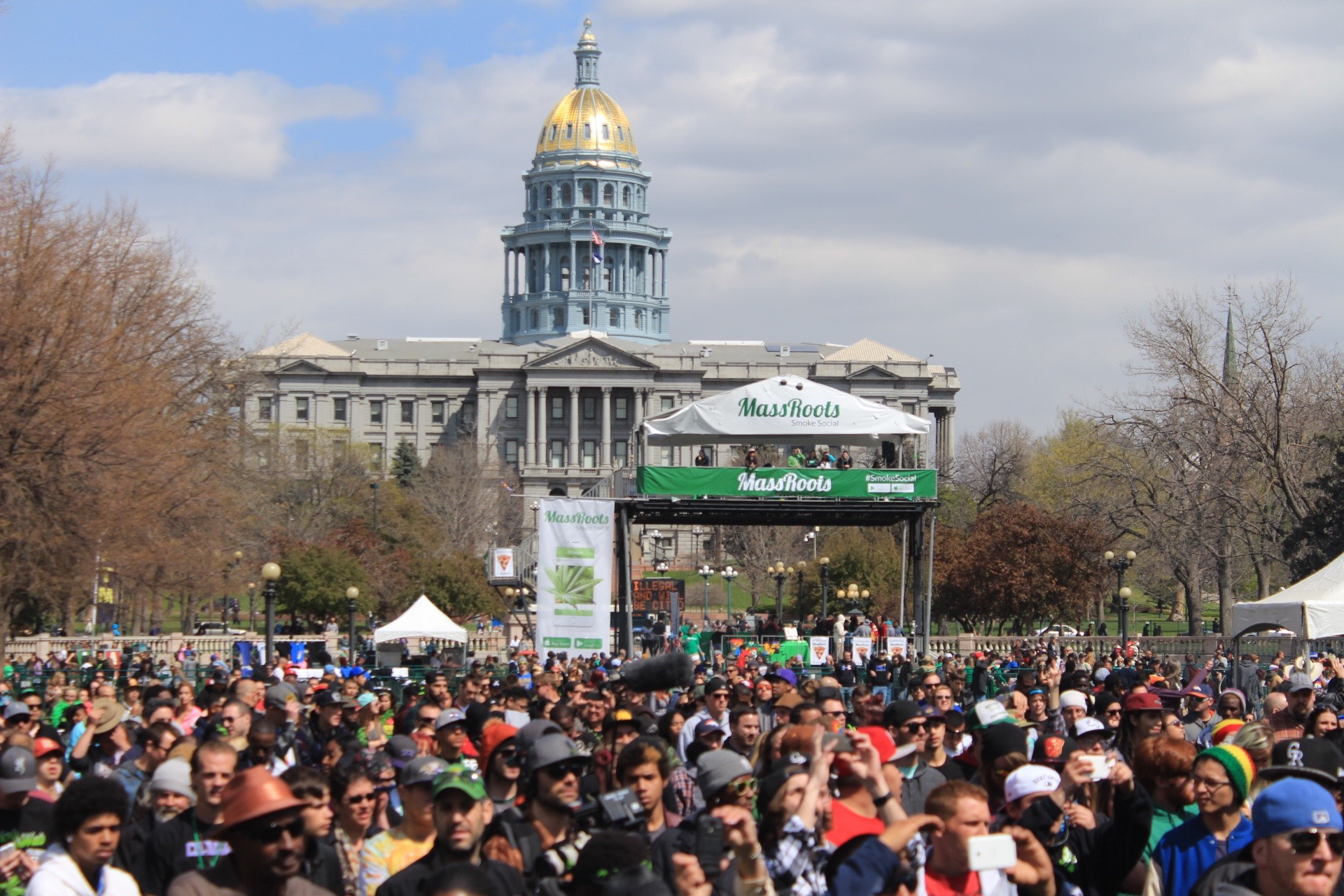 The 4/20 Rally in Denver, 2015