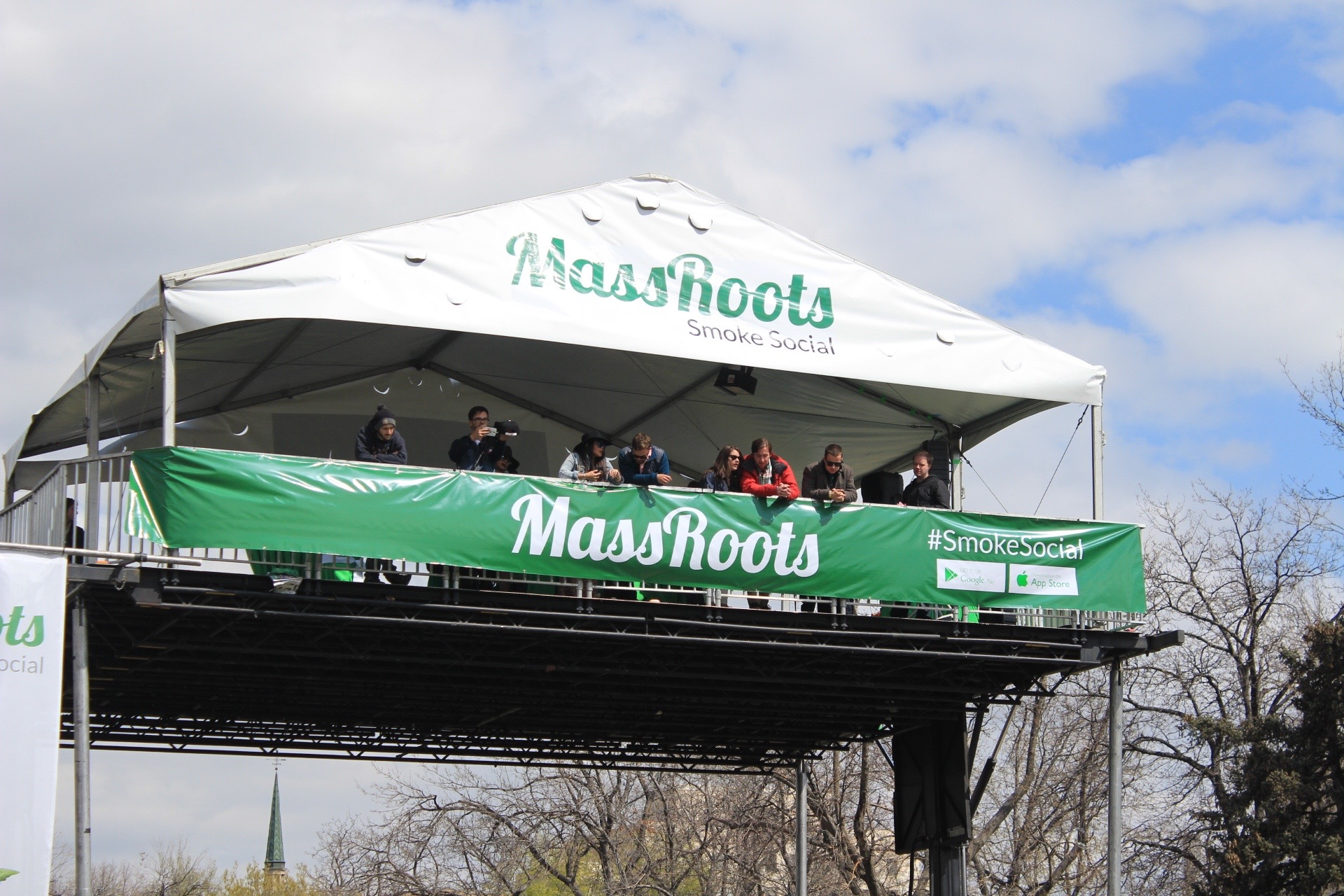 4/20 Rally Cannabis MassRoots Community