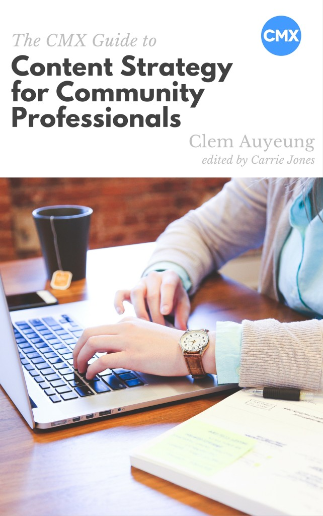 Content Strategy for Community Professionals Cover
