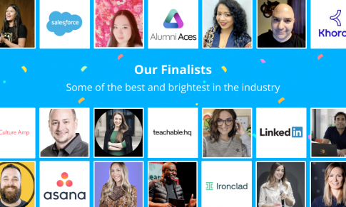 The Finalists of the 2021 Community Industry Awards